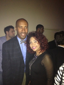 Me & Bruce BOWen in his signature bow-tie look.