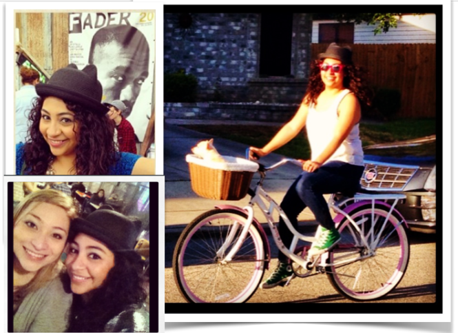 @ Fader Fort during SXSW; With my dear cuzzy; and riding my bike w/ Bella, of course