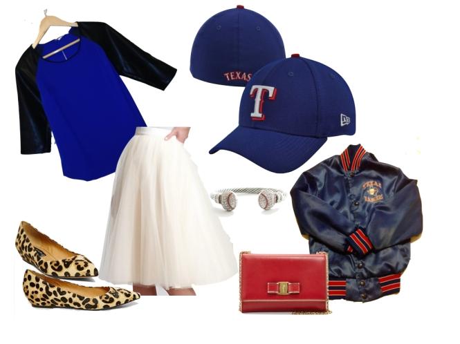 Home Run Honey: Girly combo with the New Era Texas Ranger Team Classic 39THIRTY Flex Hat