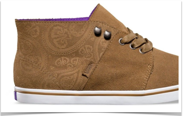 Isn't this design imprinted in the suede magical!?!?